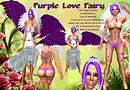Purple Love Fairy costume_special sing