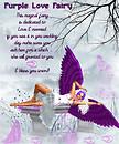Purple Love  Fairy ...A magical experience....