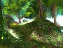 enchanted elven realm