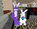 Bunny & Niece