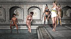 An Apple In Aphrodites Baths