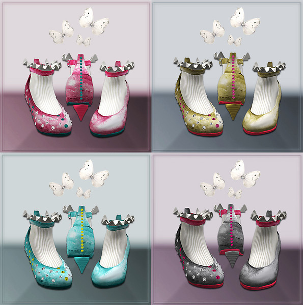The *Little Princess* Shoes (with or without gems)