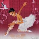 Ballet Pose with Pandora