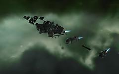 Eve Online: rendering weirdness