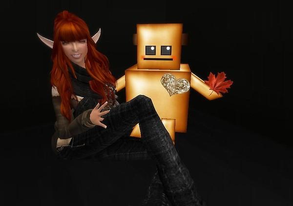 Cardboard Robot Love