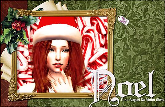 Kris in Christmas card