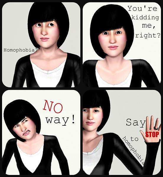 Yoriko against homophobia