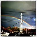 二重の虹右