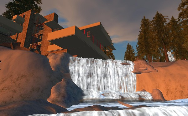 Falling Water in SL