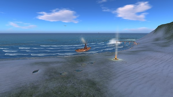 beautiful natural view out to sea - Torley Linden