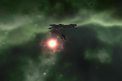 Eve Online: cynosural field