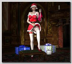 Santas Coming