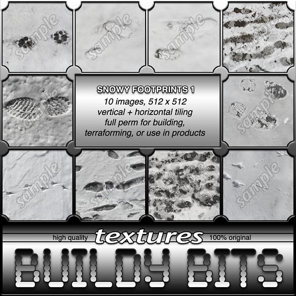 ~BB~ Snowy Footprints 1