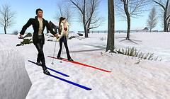 Skiing Calas Galadhon