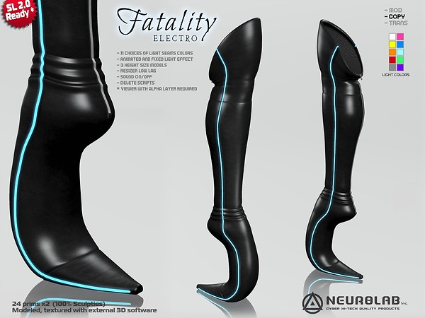 Fatality electro boots