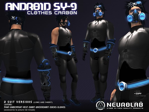 [NeurolaB Inc.] Android SY-9 carbonv2.0