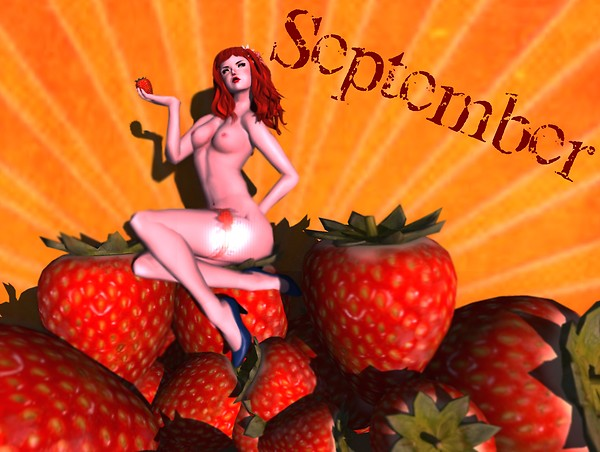 A pinup a day keeps the doctor away - September