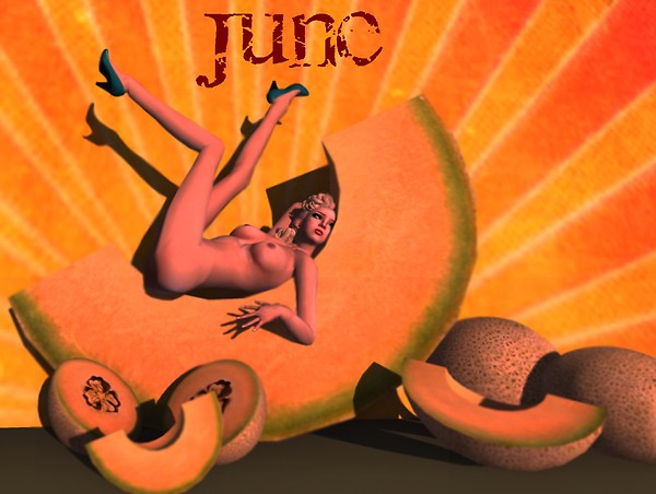 A pinup a day keeps the doctor away - June