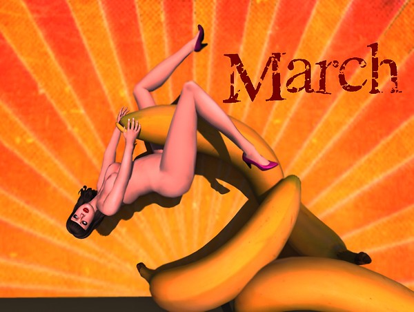 A pinup a day keeps the doctor away - March