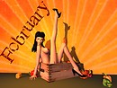 A pinup a day keeps the doctor away - February