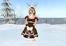 Red nosed reindeer...