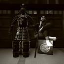 Samurai and His Armor