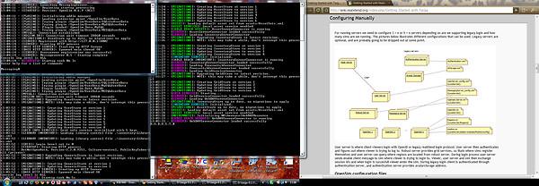 configuring realxtend taiga server