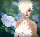 Melli in Agnes - Queen of lace gown - portrait Jan 1a