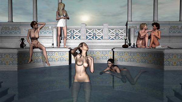 Olympian Bathers V2