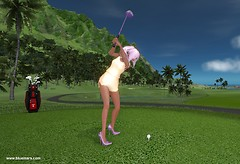 New Golf Clubs and UI!