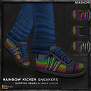 MIASNOW Rainbow Kicker Sneakers