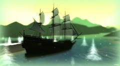 Ship at Leroy