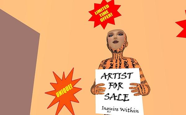 Artist for Sale