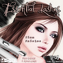 fd essential lashes glam falsies