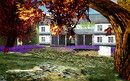 my new home_Chateau de Zoria- flower garden F