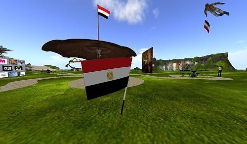 Egyptian revolution in SL_5