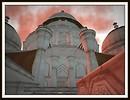 Dome of the White Taj