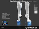 Evolution Hi-boots White electro v3