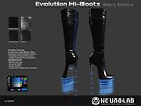 Evolution Hi-boots Black electro v3