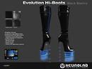 Evolution Hi-boots Black electro v3