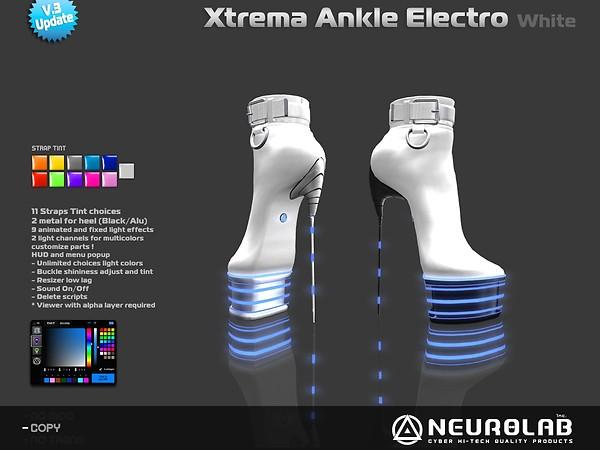 [NeurolaB Inc.] Xtrema Ankle White Electro v3