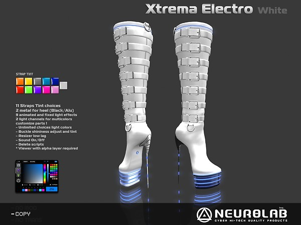 [NeurolaB Inc.] Xtrema White Electro v3