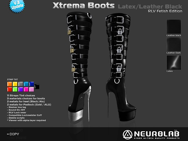 [NeurolaB Inc.] Xtrema Black Fetish Latex v3