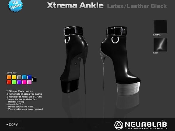[NeurolaB Inc.] Xtrema Ankle Black v3