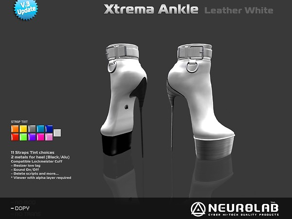 [NeurolaB Inc.] Xtrema Ankle White v3