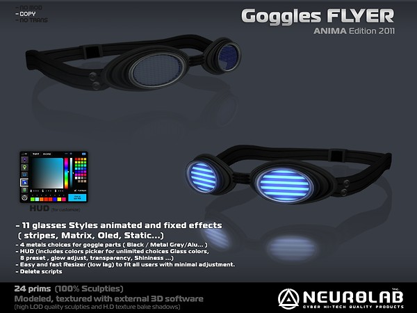 [NeurolaB Inc.] Goggle Flyer ANIMA-2