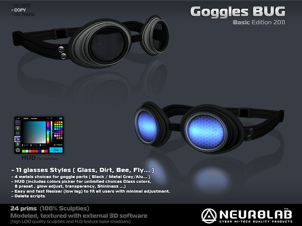 [NeurolaB Inc.] Goggle Bug-2
