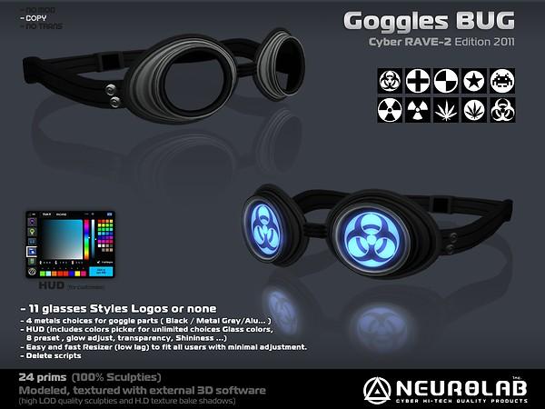 [NeurolaB Inc.] Goggle Bug cyber rave-2