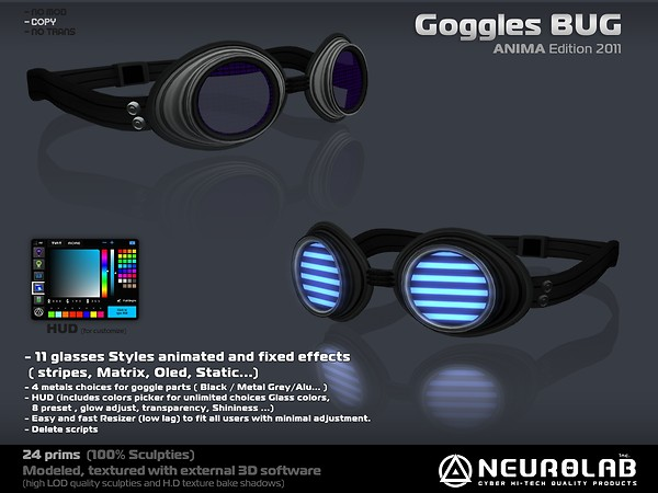 [NeurolaB Inc.] Goggle Bug ANIMA-2