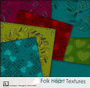 folk art fabric textures